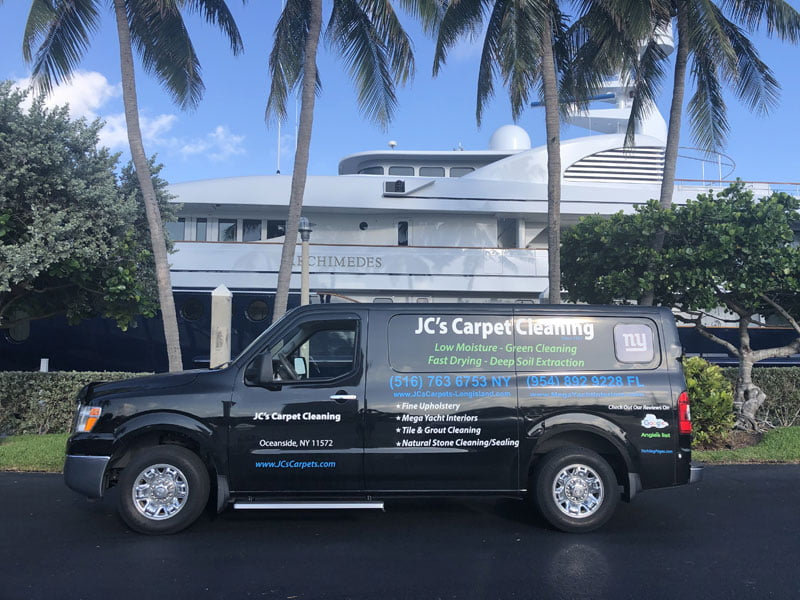 Yacht Carpet Cleaning Pompano Beach and Surrounding Areas
